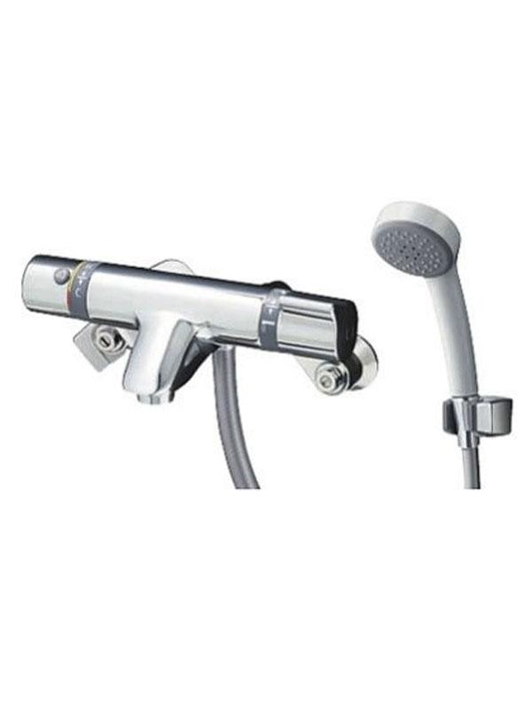 【TOTO】トートー『壁付サーモスタット混合水栓(エアイン)』TMF44E1R 浴室用 シャワバス 壁付 整流【新品】b00e/N