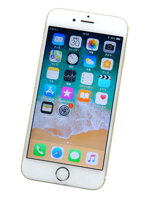 【Apple】【SoftBankのみ】【交換プログラム対象】アップル『iPhone 6s 128GB SoftBank』MKQV2J/A ゴールド iOS11.2.6 4.7型 白ロム ○判定【中古】b03e/h15B