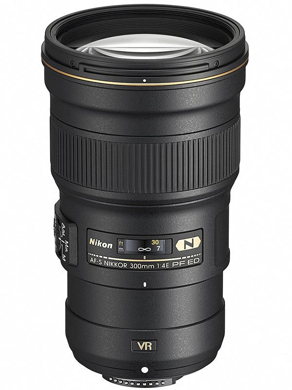 【Nikon】ニコン『AF-S NIKKOR 300mm f/4E PF ED VR』AFS3004E FXフォーマット デジタル一眼レフカメラ用レンズ【中古】b03e/h20S