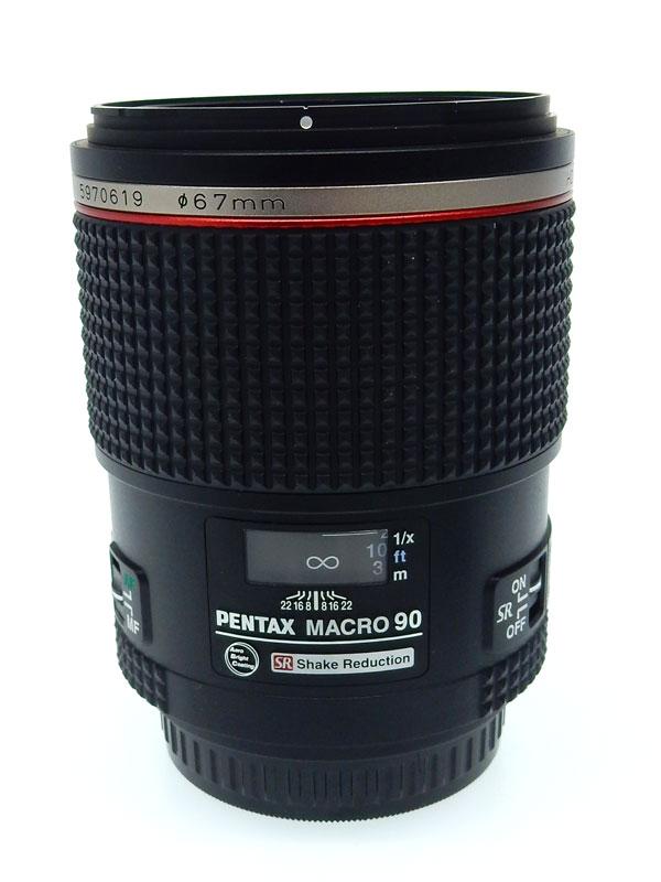 【PENTAX】ペンタックス『HD PENTAX-D FA645 MACRO 90mmF2.8ED AW SR』71mm相当 中望遠レンズ マクロ 一眼レフカメラ用レンズ 1週間保証【中古】b03e/h20AB