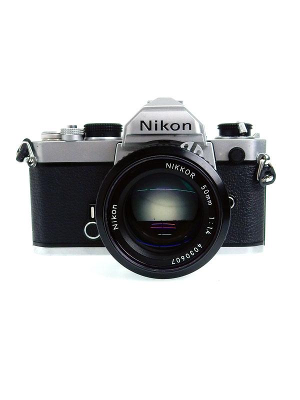 【Nikon】ニコン『FM シルバー』カメラ 1週間保証【中古】b03e/h12B