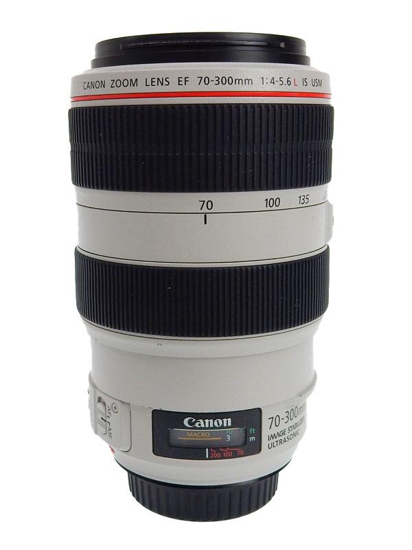 【Canon】キヤノン『EF70-300mm F4-5.6L IS USM』EF70-300LIS デジタル一眼レフカメラ用レンズ 1週間保証【中古】b03e/h11AB