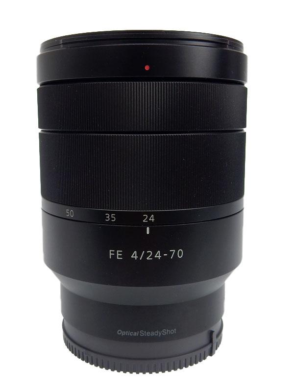 【SONY】ソニー『Vario-Tessar T* FE 24-70mm F4 ZA OSS』SEL2470Z Eマウント フルサイズ対応 デジタル一眼カメラ用レンズ 1週間保証【中古】b03e/h11AB