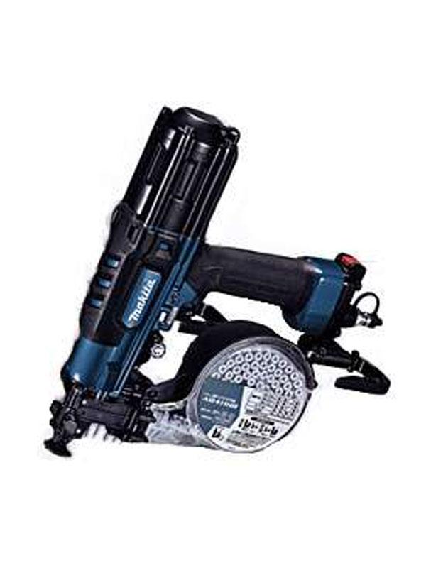 【makita】マキタ『41mm高圧エアビス打ち機』AR411HRM 青 内装石こうボード用 100本装てん ねじ打ち機【新品】b00t/N