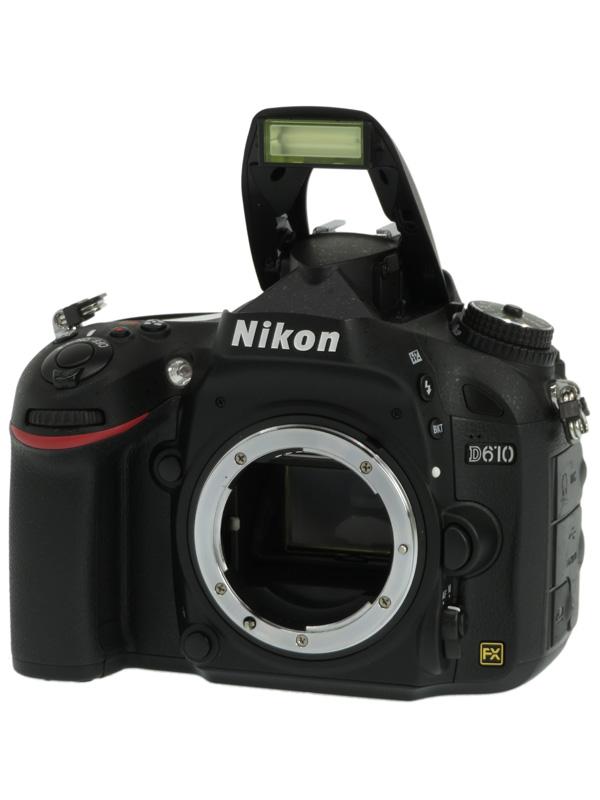 【Nikon】ニコン『D610』2426万画素 FXフォーマット ISO6400 フルHD動画 ボディー デジタル一眼レフカメラ 1週間保証【中古】b02e/h12AB