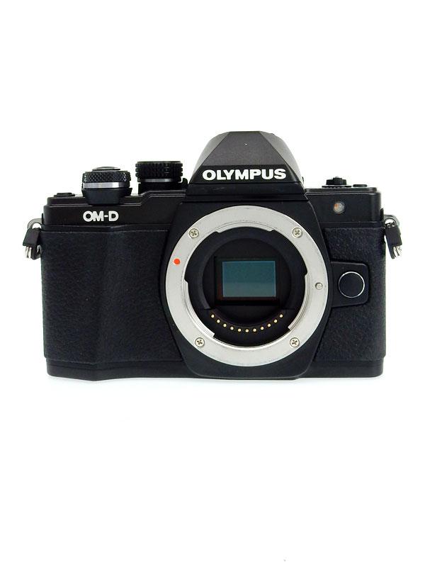 【OLYMPUS】オリンパス『OM-D E-M10 Mark II ボディー』ブラック 1605万画素 SDXC 5軸手ブレ補正 Wi-Fi ミラーレス一眼カメラ【中古】b03e/h16AB
