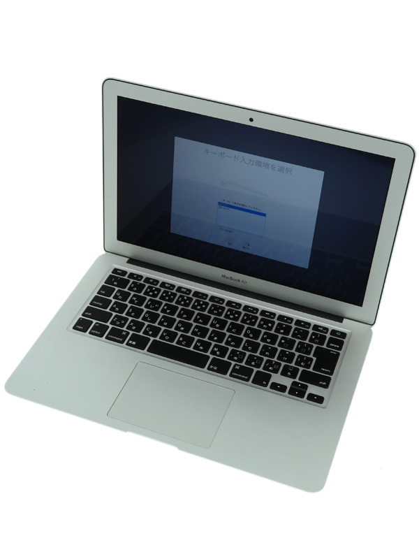 【Apple】アップル『MacBook Air 1600/13.3』MJVG2J/A Early 2015 256GB Yosemite ノートPC【中古】b03e/h20B
