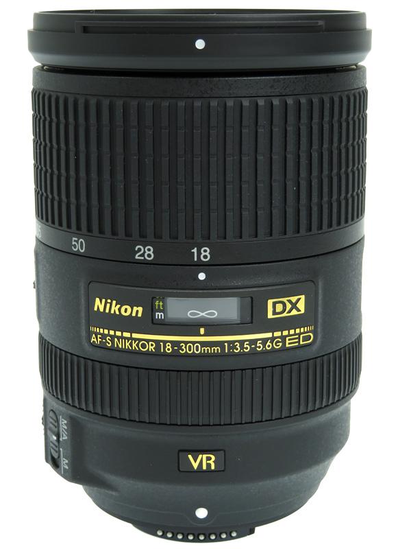 【Nikon】ニコン『AF-S DX NIKKOR 18-300mm f/3.5-5.6G ED VR』AFSDXVR18-300G 27-450mm相当 デジタル一眼レフカメラ用レンズ 1週間保証【中古】b06e/h16A