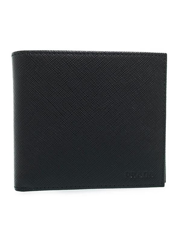 057b77cae44f <【スーパーセール】プラダ 財布 二つ折り PRADA 1ml522safmet-blue