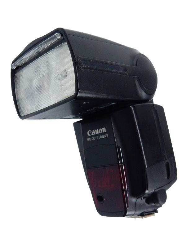 【Canon】キヤノン『スピードライト』580EX II 最大ガイドナンバー58 ストロボ 1週間保証【中古】b03e/h20B
