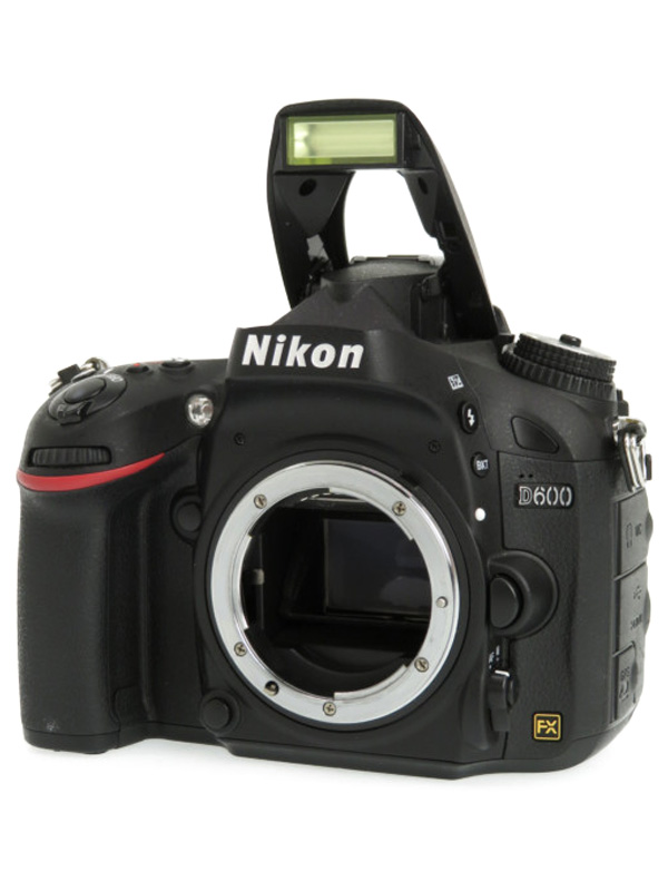 【Nikon】ニコン『D600』2426万画素 FXフォーマット ISO6400 フルHD動画 ボディー デジタル一眼レフカメラ 1週間保証【中古】b02e/h02AB