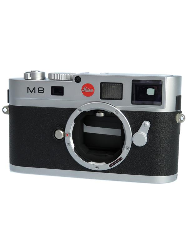 【Leica】ライカ『LEICA M8』シルバークローム 1030万画素 SDHC デジタルレンジファインダーカメラ 1週間保証【中古】b03e/h06BC