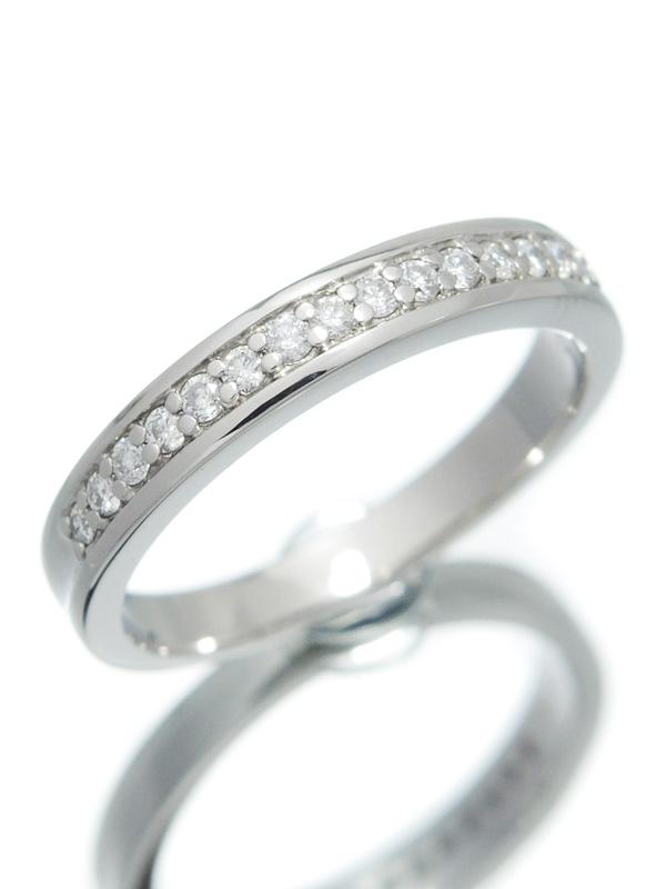 【仕上済】セレクトジュエリー『PT900リング ダイヤモンド0.16ct』11号 1週間保証【中古】b01j/h10SA