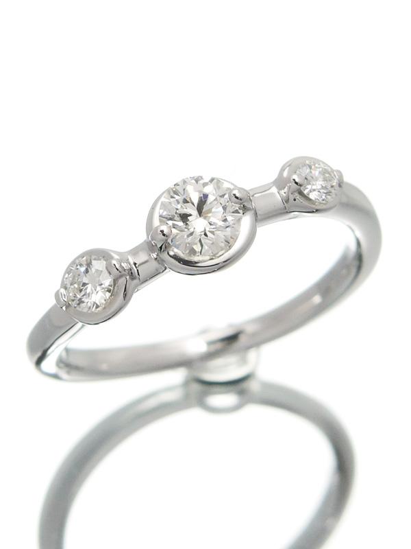 【TASAKI】【仕上済】タサキ『K18WGリング ダイヤモンド0.36ct』9.5号 1週間保証【中古】b01j/h10SA