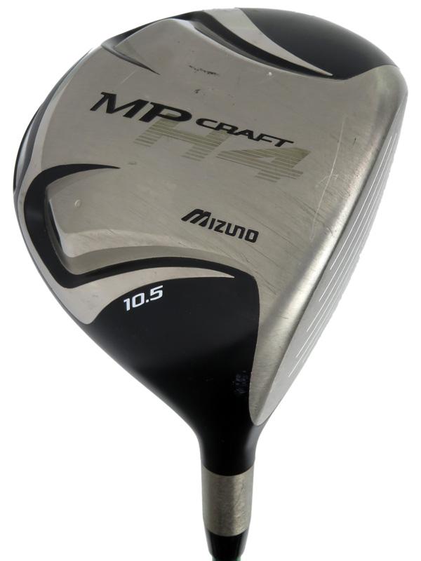 【Mizuno】ミズノ『MP CRAFT H4 ドライバー 10.5° フレックスS』右利き ゴルフクラブ 1週間保証【中古】b02e/h21B