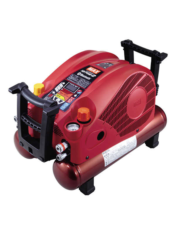 【MAX】マックス『高圧エアコンプレッサ』AK-HL1270E2 レッド 45気圧 11Lタンク 高圧/常圧 静音55dB【新品】b00t/N
