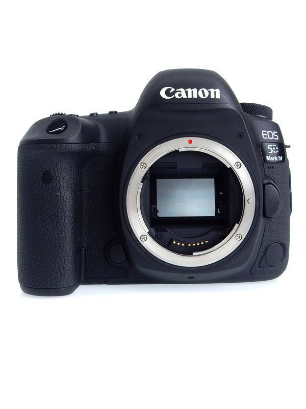 【Canon】キヤノン『EOS 5D Mark IV ボディー』EOS5DMK4 3040万画素 フルサイズ SDXC デジタル一眼レフカメラ 1週間保証【中古】b02e/h19AB