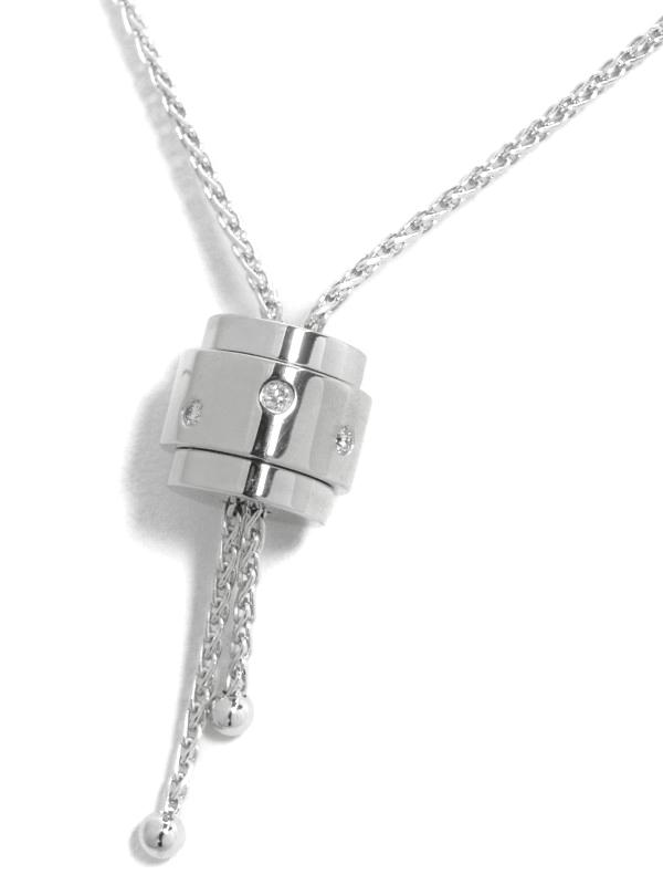 【PIAGET】ピアジェ『ポセション バンド ネックレス ダイヤモンド』1週間保証【中古】b03j/h07A