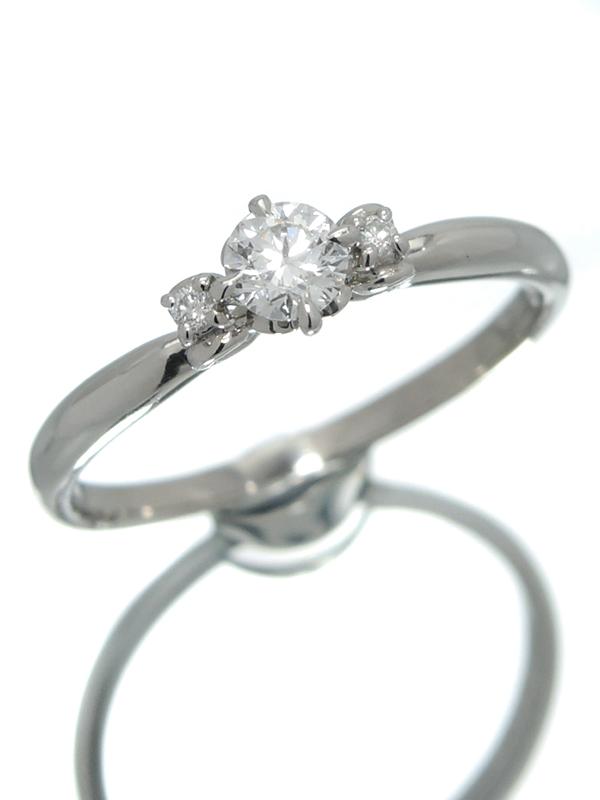 【Samantha Tiara】【Disney】【シンデレラ】【仕上済】【ソーティング】サマンサティアラ『Dear My Princess リング ダイヤモンド』14号 1週間保証【中古】b02j/h03SA