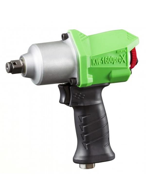 【空研】クウケン『エアインパクトレンチ』KW-1600proX 能力ボルト径16mm 排気方向可変マフラ【新品】b03t/N