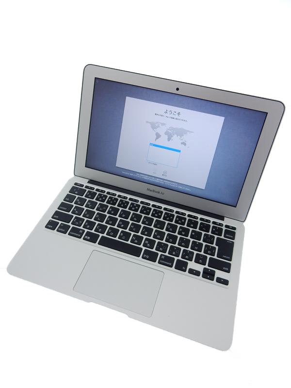 【Apple】アップル『MacBook Air 1300/11.6』MD712J/A Mid 2013 256GB Moutain Lion ノートPC【中古】b03e/h06A