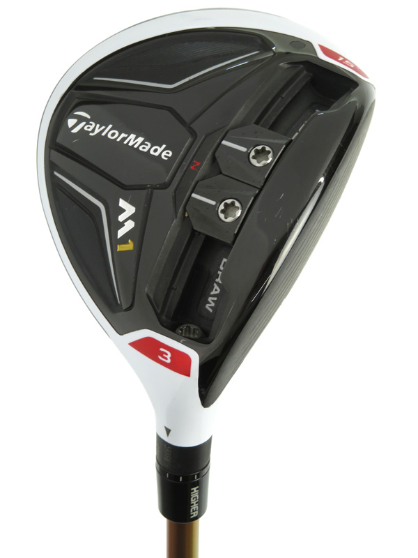 【TaylorMade Golf】テーラーメイドゴルフ『M1 フェアウェイウッド #3 15° Speeder 661 EVILUTION II フレックスS』ゴルフクラブ 1週間保証【中古】b05e/h10AB