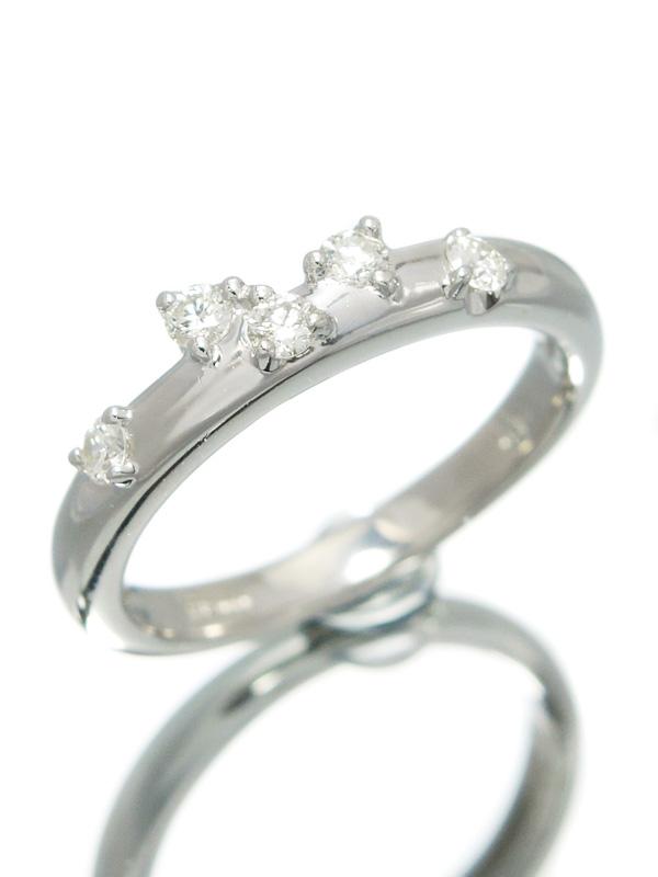 セレクトジュエリー『PT900リング ダイヤモンド0.18ct』10号 1週間保証【中古】b01j/h04A