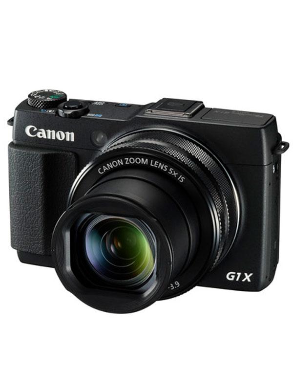 【Canon】キヤノン『PowerShot G1 X Mark II』PSG1XMARKII 1500万画素 光学5倍 広角24mm フルHD SDXC Wi-Fi コンパクトデジタルカメラ【新品】b00e/N