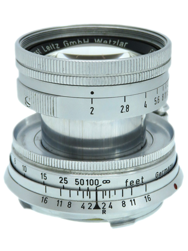 【Leica】ライカ『ズミクロンM 50mmF2 初代 沈胴』1375993 レンジファインダーカメラ用 レンズ 1週間保証【中古】b03e/h12B