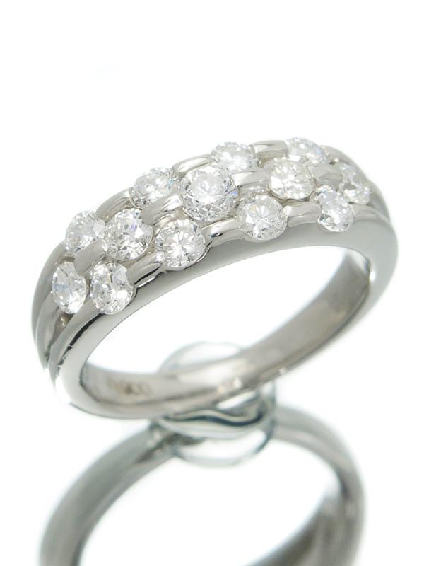 セレクトジュエリー『PT900リング ダイヤモンド1.05ct』8号 1週間保証【中古】b06j/h17A