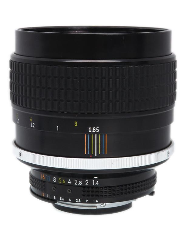 【Nikon】ニコン『AI Nikkor 85mm F1.4S』一眼レフカメラ用レンズ 1週間保証【中古】b03e/h07B