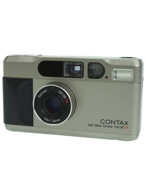 【CONTAX】コンタックス『T2』035392 38mmF2.8 コンパクトフィルムカメラ 1週間保証【中古】b03e/h08AB