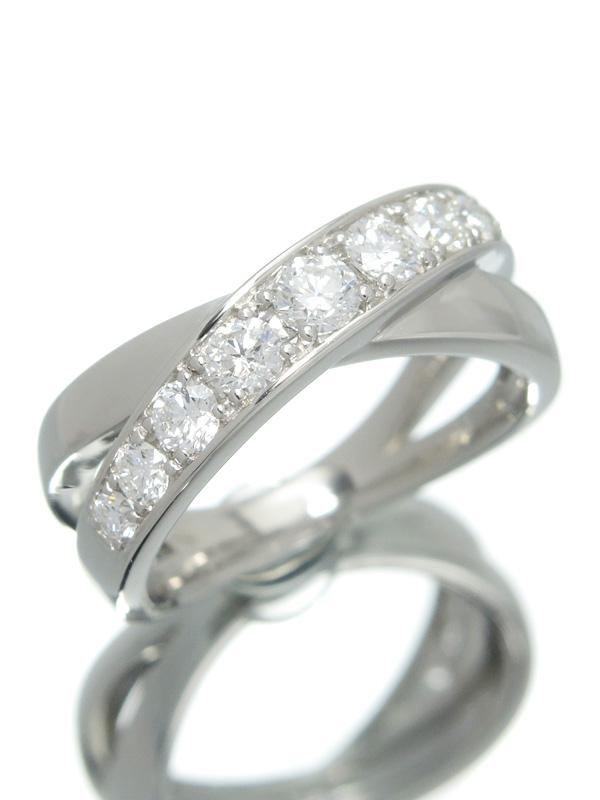 セレクトジュエリー『PT950リング ダイヤモンド0.60ct』10号 1週間保証【中古】b06j/h17A