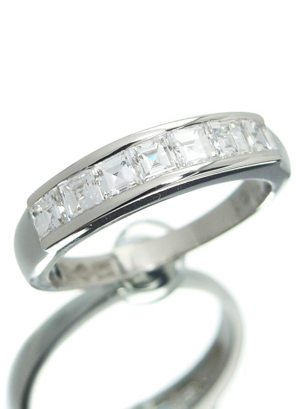 【仕上済】セレクトジュエリー『PT900リング ダイヤモンド1.01ct』11.5号 1週間保証【中古】b01j/h02SA