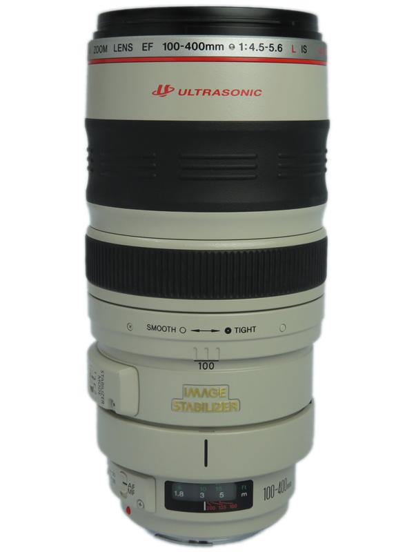 【Canon】キヤノン『EF100-400mm F4.5-5.6L IS USM』EF100-400LIS 高画質望遠ズーム 手ブレ補正 一眼レフ/ミラーレスカメラ用レンズ 1週間保証【中古】b06e/h18AB