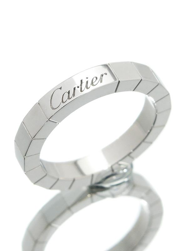 【Cartier】【仕上済】カルティエ『ラニエール リング』8号 1週間保証【中古】b02j/h13SA