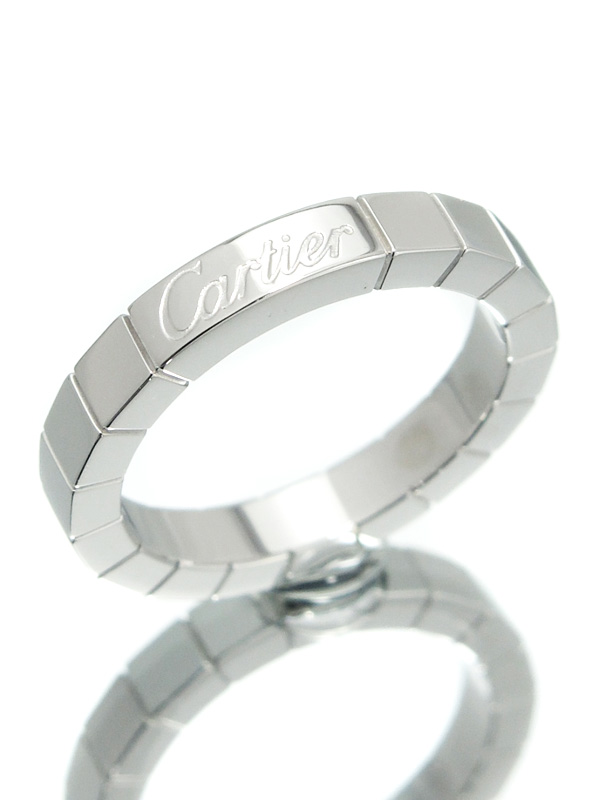 【Cartier】【仕上済】カルティエ『ラニエール 1週間保証【中古】b02j/h03SA リング』8号