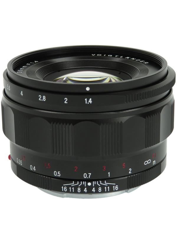 【Voigtlander】フォクトレンダー『NOKTON classic 35mm F1.4』Eマウント マニュアルフォーカス カメラ用レンズ 1週間保証【中古】b02e/h04AB