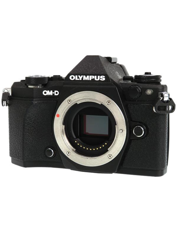 【OLYMPUS】オリンパス『OLYMPUS OM-D E-M5 Mark II ボディー』ブラック 1605万画素 SDXC ミラーレス一眼カメラ 1週間保証【中古】b03e/h08AB