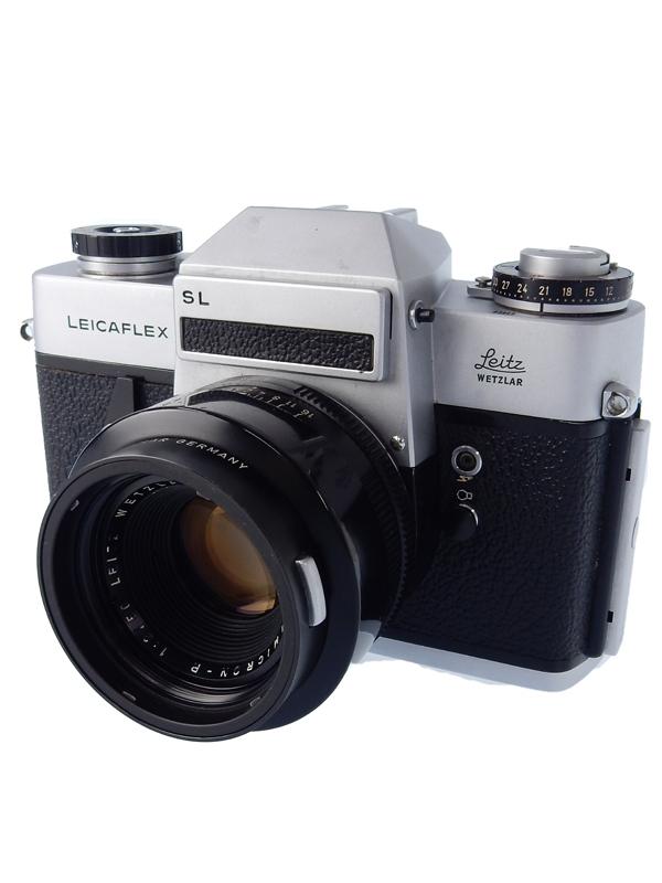 【Leica】ライカ『LEICA フレックス SL + 50F2 2カム ズミクロンR』フィルムカメラ 1週間保証【中古】b03e/h22B