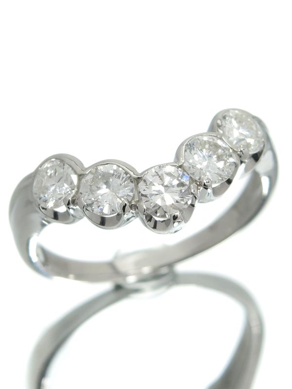 【仕上済】セレクトジュエリー『PT900リング ダイヤモンド1.00ct』13号 1週間保証【中古】b01j/h04SA