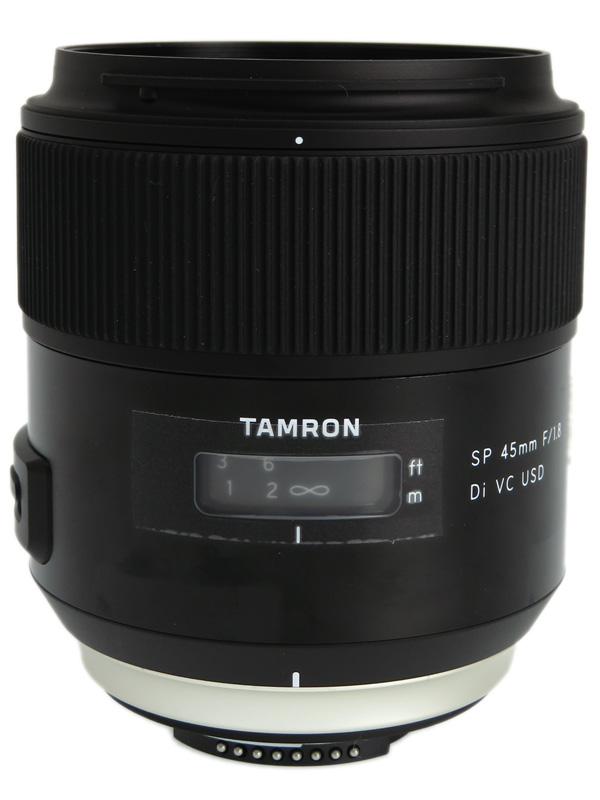 【TAMRON】タムロン『SP 45mm F/1.8 Di VC USD』F013N ニコンFマウント デジタル一眼レフカメラ用レンズ 1週間保証【中古】b03e/h06AB