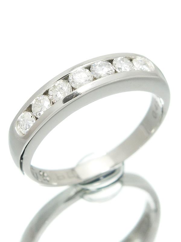 セレクトジュエリー『PT900リング ダイヤモンド0.45ct』12.5号 1週間保証【中古】b01j/h12A