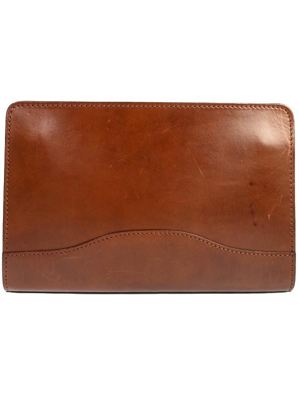 【大峡製鞄】オオバセイホウ『クラッチバッグ』1126-BTL メンズ 1週間保証【中古】b06b/h17B