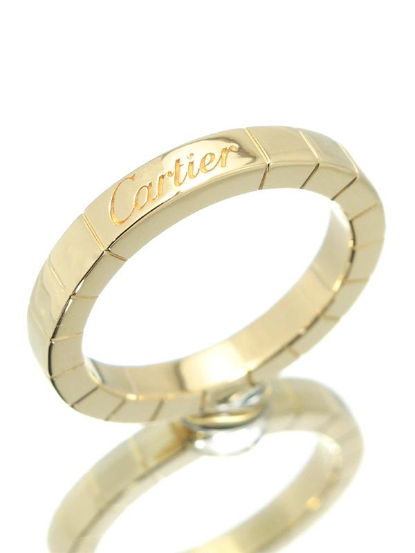 【Cartier】【仕上済】カルティエ『ラニエール リング』8号 1週間保証【中古】b01j/h04SA
