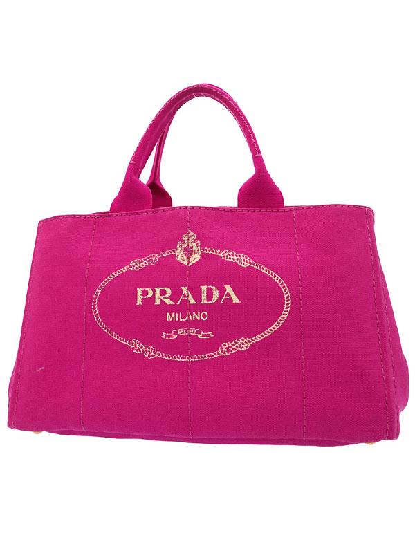 【PRADA】プラダ『カナパ トートバッグ』レディース 1週間保証【中古】b01b/h04AB