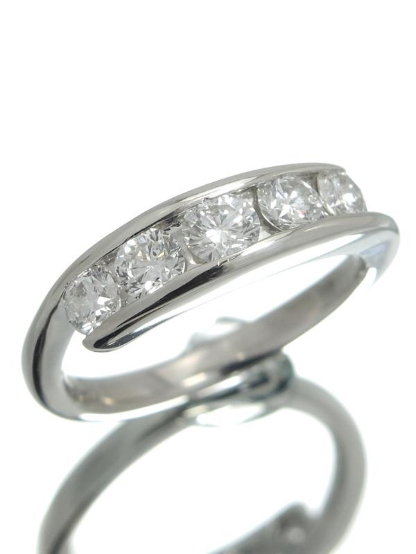 セレクトジュエリー『PT900リング ダイヤモンド1.00ct』12号 1週間保証【中古】b06j/h17A