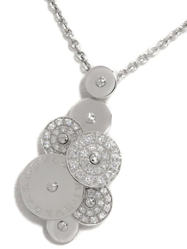 【BVLGARI】ブルガリ『チクラディ ダイヤモンド ネックレス』1週間保証【中古】b02j/h03A