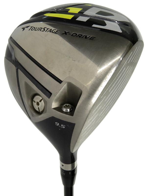 【BRIDGESTONE GOLF】ブリヂストンゴルフ『TOURSTAGE X-DRIVE GR ドライバー 9.5° Diamana W60』ゴルフクラブ 1週間保証【中古】b05e/h10B