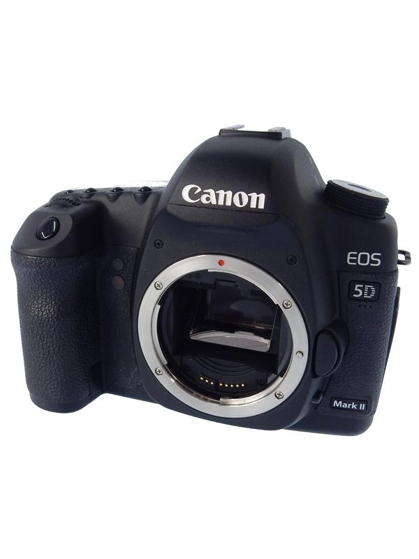 【Canon】キヤノン『EOS 5D MarkII ボディ』約2110万画素 ISO100-6400 デジタル一眼レフカメラ 1週間保証【中古】b02e/h02AB